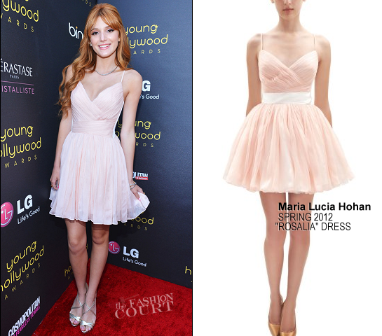 Bella Thorne in Maria Lucia Hohan | 2012 Young Hollywood Awards