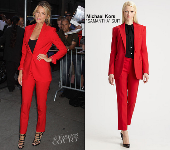 Blake Lively in Michael Kors | 'Good Morning America'