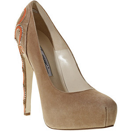 Brian Atwood CLAUDIA BIS Suede Pumps