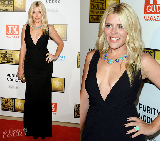 Busy Philipps in Michael Kors | 2012 Critics' Choice Television Awards