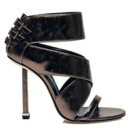 Camilla Skovgaard Spring 2010 Metallic Sandals