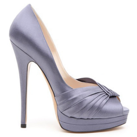Casadei 3144 Double Platform Open Toe Pumps