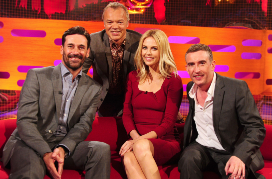 Charlize Theron in Roland Mouret | 'The Graham Norton Show'