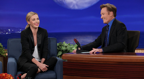 Charlize Theron in Stella McCartney | 'CONAN'
