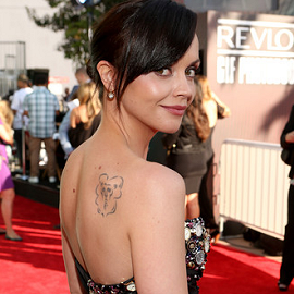 Christina Ricci in Christian Siriano | 2012 MTV Movie Awards