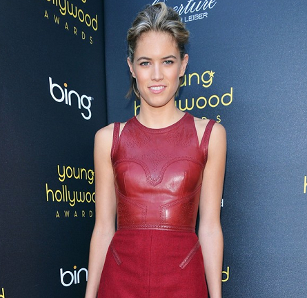 Cody Horn in Marios Schwab | Young Hollywood Awards 2012