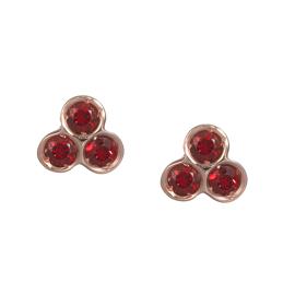 dalla nonna portafortuna stud earrings