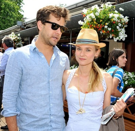 Diane Kruger in Marios Schwab | French Open 2012 - Day 5