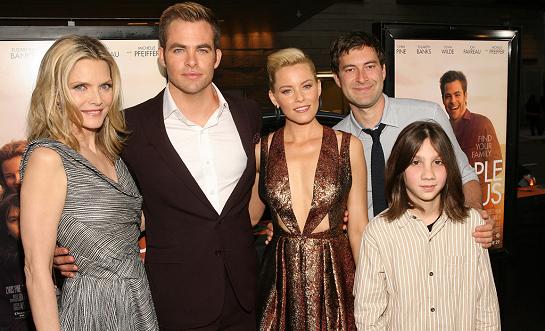 Elizabeth Banks in J. Mendel | 'People Like Us' 2012 LA Film Festival Premiere