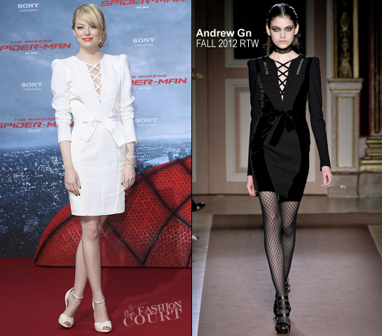 Emma Stone in Andrew Gn | 'The Amazing Spider-Man' Berlin Premiere