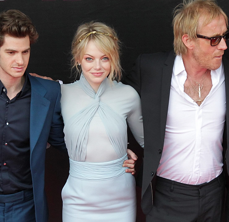 Emma Stone in Emilio Pucci   'The Amazing Spider-Man' Moscow Premiere