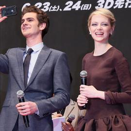 Emma Stone in Rochas | 'The Amazing Spider-Man' Tokyo Premiere