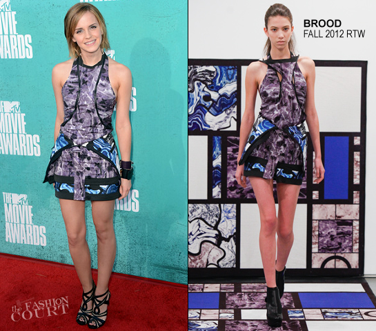 Emma Watson in Brood | 2012 MTV Movie Awards