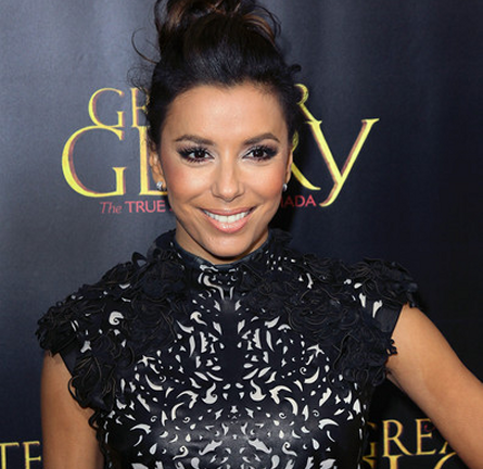 Eva Longoria in Marchesa | 'For Greater Glory' Beverly Hills Premiere