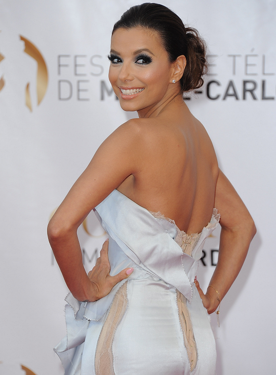 Eva Longoria in Marchesa | 2012 Monte Carlo TV Festival Closing Ceremony & Golden Nymph Awards