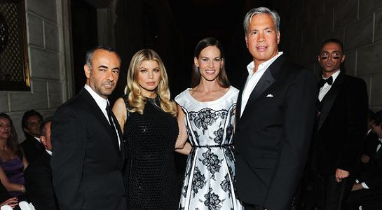 Fergie in Calvin Klein Collection | amfAR Inspiration Gala New York 2012