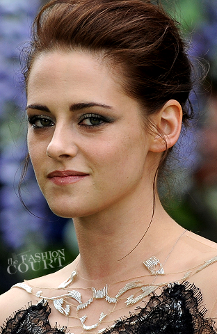Get The SWATH Look: Kristen Stewart's Chain-Twisted Bun!