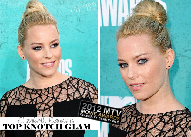 Get The Look: 2012 MTV Movie Awards – Elizabeth Banks