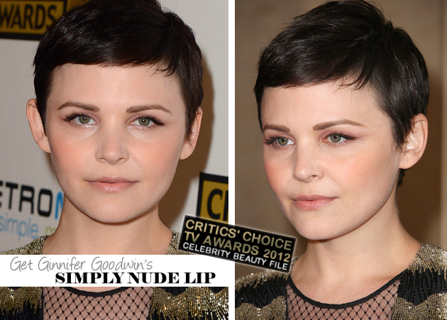 Get The Look: Ginnifer Goodwin's CCTA Simply Nude Lip!