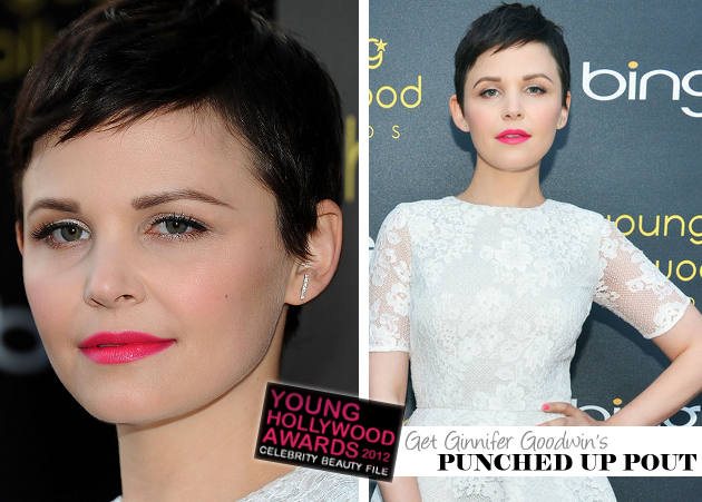 Get The Look: 2012 Young Hollywood Awards - Get Ginnifer Goodwin's Punched Up Pout!