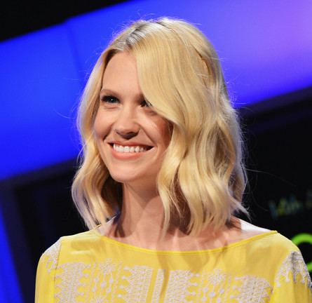 Get The Look: 2012 Young Hollywood Awards - Get January Jones' Beachy Waves!