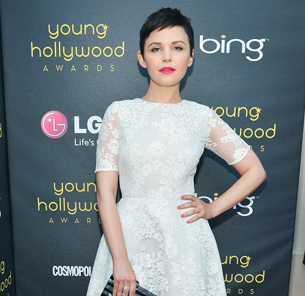Ginnifer Goodwin in Monique Lhuillier | Young Hollywood Awards 2012
