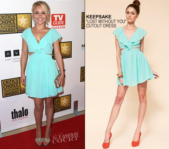 Hayden Panettiere in Keepsake | 2012 Critics' Choice Television Awards