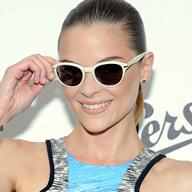 Jaime King in Peter Pilotto | Persol Magnificent Obsessions: 30 Stories Of Craftmanship In Film Event