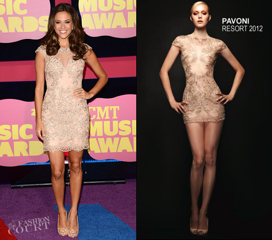 Jana Kramer in Pavoni | 2012 CMT Music Awards
