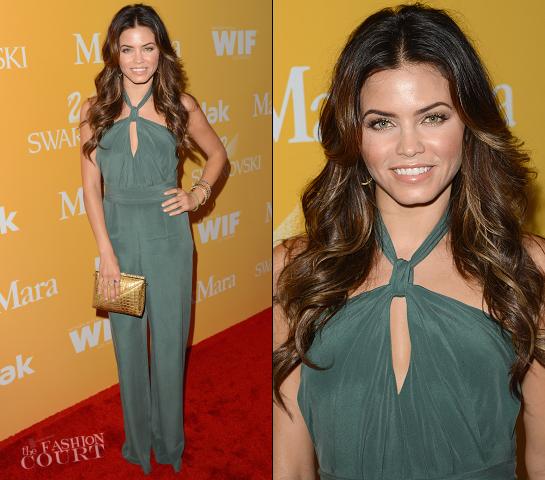 Jenna Dewan-Tatum in MaxMara | Women In Film Crystal + Lucy Awards 2012