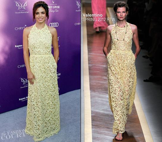Jenna Dewan-Tatum in Valentino | Chrysalis Butterfly Ball 2012