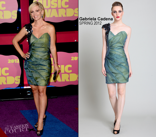 Jennie Garth in Gabriela Cadena | 2012 CMT Music Awards