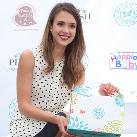 Jessica Alba in Tory Burch | 2012 Plush Event
