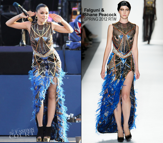 Jessie J in Falguni & Shane Peacock | The Queen's Diamond Jubilee Concert