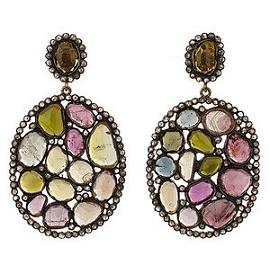 J/Hadley Multi-colored Tourmaline Earrings