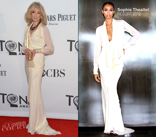 Judith Light in Sophie Theallet | 2012 Tony Awards