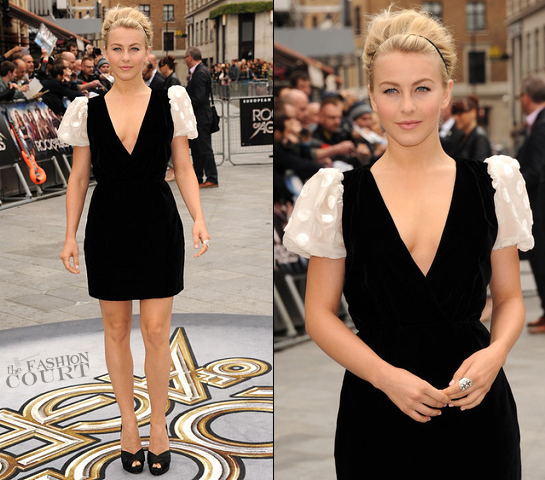 Julianne Hough in Valentino | 'Rock of Ages' London Premiere