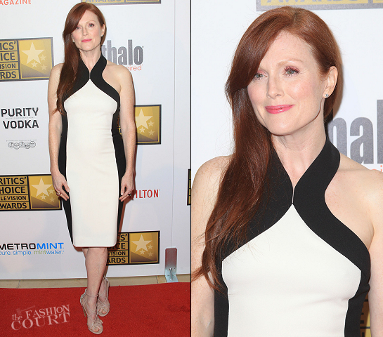 Julianne Moore in Jason Wu | 2012 Critics' Choice Television Awards