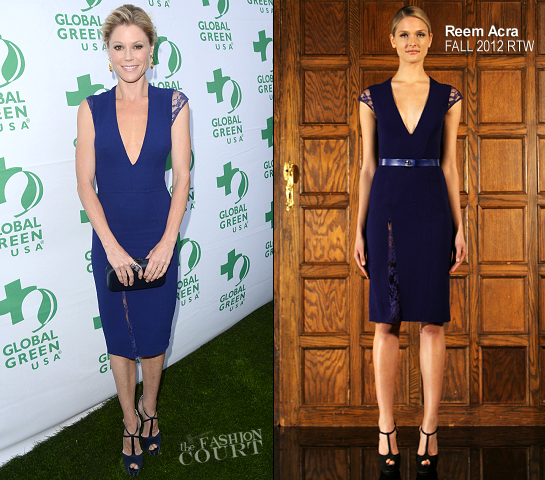 Julie Bowen in Reem Acra | Global Green USA Millennium Awards 2012