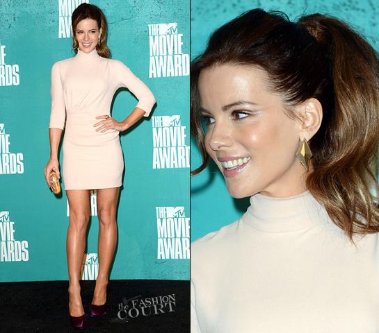 Kate Beckinsale in Christian Dior | 2012 MTV Movie Awards