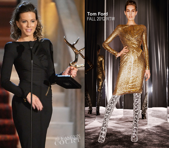 Kate Beckinsale in Tom Ford | Spike TV's Guys Choice Awards 2012