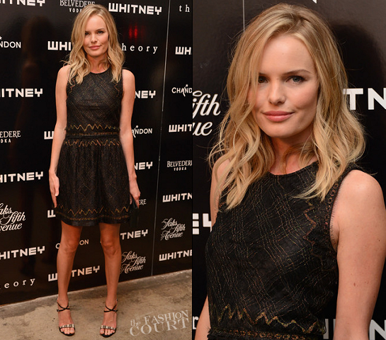 Kate Bosworth in Theyskens' Theory | 2012 WHITNEY ART PARTY