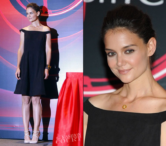 Katie Holmes in Holmes & Yang | 'Artistry On Ice' Beijing Press Conference