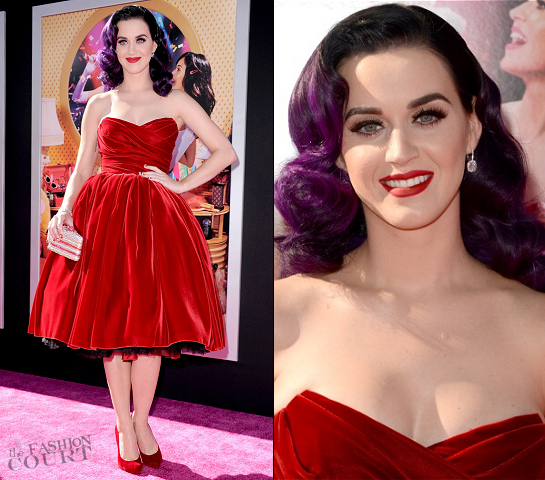Katy Perry in Dolce & Gabbana | 'Katy Perry: Part Of Me' LA Premiere