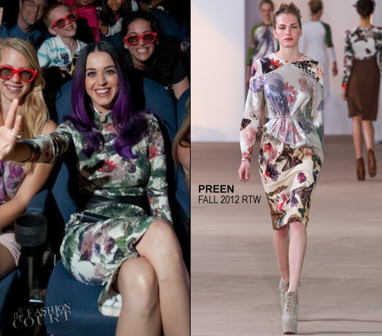 Katy Perry in Preen | 'Katy Perry: Part of Me 3D' Toronto Screening