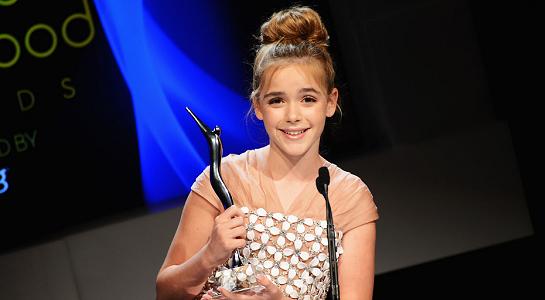 Kiernan Shipka in Miu Miu | Young Hollywood Awards 2012