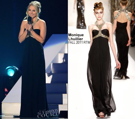 Kristen Bell in Monique Lhuillier | 2012 CMT Music Awards
