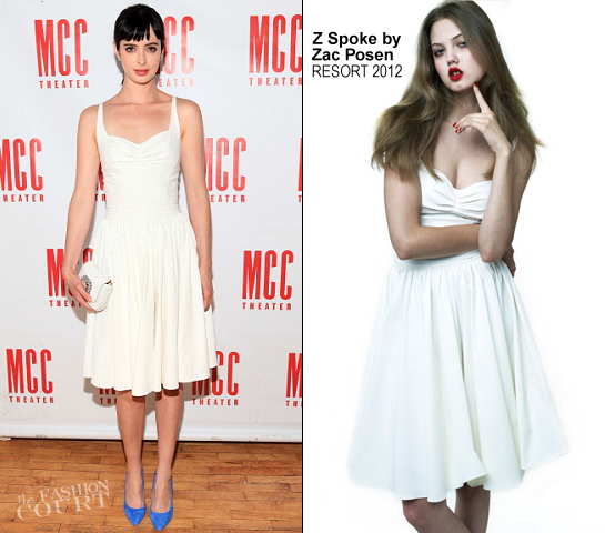 Krysten Ritter in Z Spoke by Zac Posen | 'The Heart Of The Matter' Cast Celebration