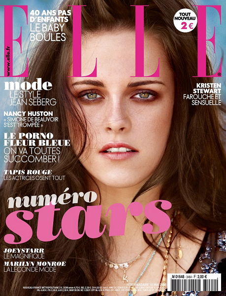 Kristen Stewart Is 'California Cool' for ELLE France!