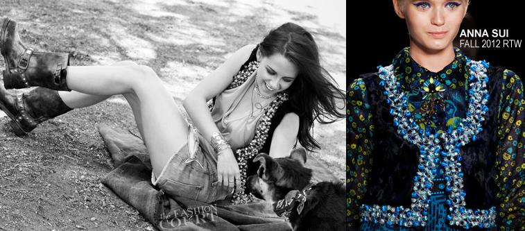 Kristen Stewart Is 'California Cool' for ELLE France!